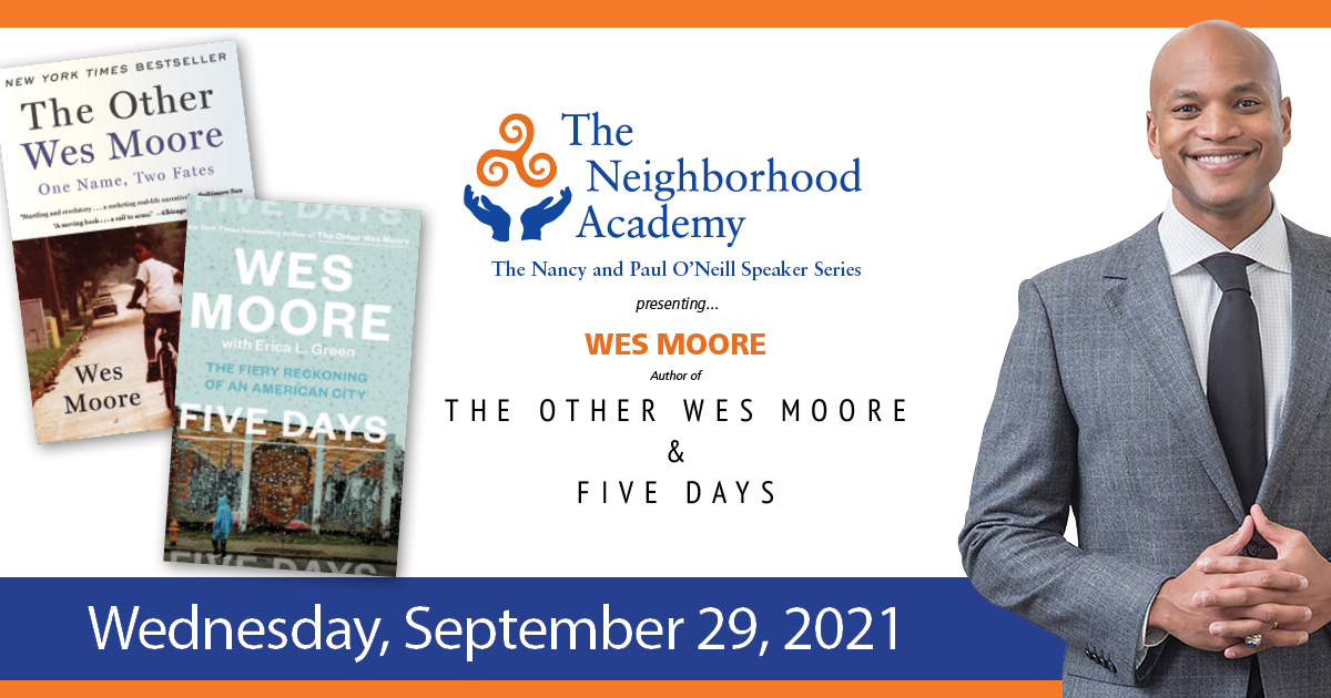 wes moore pittsburgh tna speaker series 2021